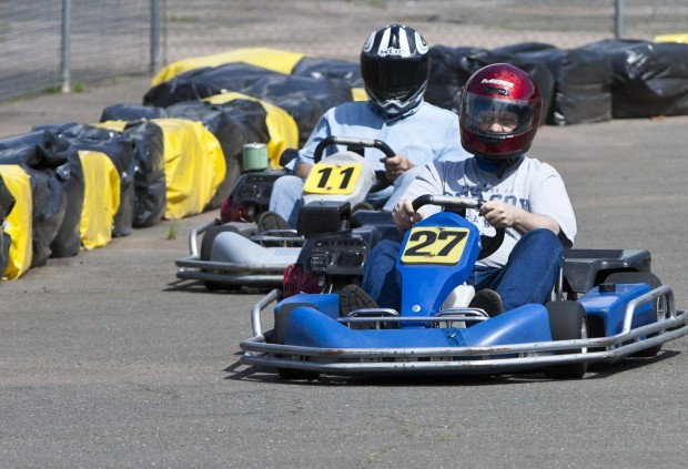 opening of a performance outdoor go kart track in Wallingford Ct -
